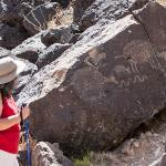 Petroglyphs at Rinconada