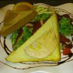 salade landaise ( manque un toast, je n'ai pas pu resister !!)