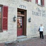 Outside entrance to Old Tavern