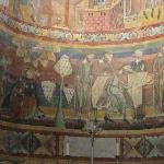 Fresco at Mustair convent