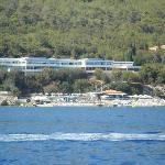 ristorante visto dal mare