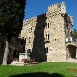 Vue du château médieval