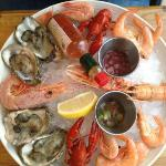 Seafood mixed platter for under £19!