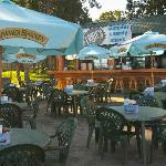 Outdoor Dining On The Patio At The Summer Shandy Shack