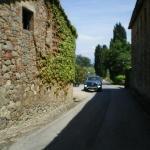 Vineyard private road