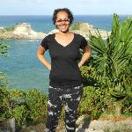 ME! on the way to CALABASH COVE