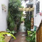 Entry to Coqui del Mar