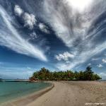 Lingua di sabbia a Maayafushi