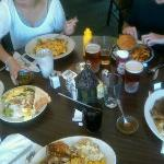 This was a five person Dinner - It's good old fashioned American Kitchen