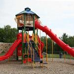 Cool Playground with BIG Slide