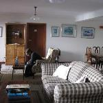 Main area for B&B guests