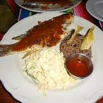 Caramba's whole snapper