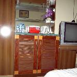 mini bar dans la chambre