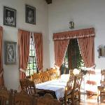 Breakfast room at the Inn