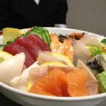 Chirashi Sushi or Scattered Sushi Plate