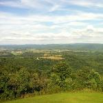 The view from Droop Mountain Battlefield's look out tower. stunning