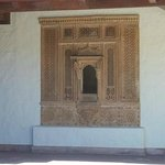Architectural screen from India.