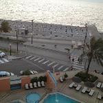 piscina e spiaggia, camera vista mare