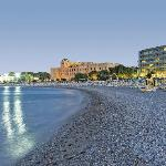 Magnificent location of the Mediterranean Hotel