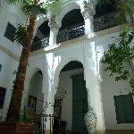 Le patio de Dar Malak