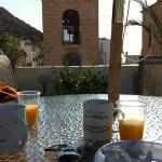 colazione in terrazza