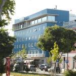 La facciata dell'Hotel