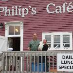 Philip, Linda, and Muff