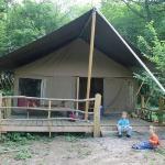 Teh safari Tent