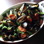 Local Norfolk Mussels.