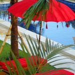 Relax by the pool at RedSalt Cafe