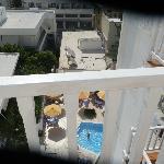 Vue du balcon de la 603