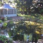le jardin et son salon d'été