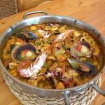Paella de marisco (Especialidad)