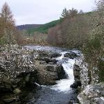 Lovely walks along the river Moriston