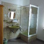 Shower&sink inside the room