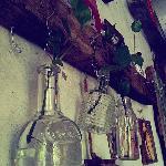 bottles of decoration
