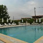 The pool of the hotel