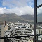 View from balcony/hot tub (direct view of Table Mountain)