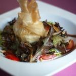 Ensalada templada - Warm salad