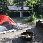 campground many glacier