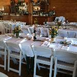 Interior Wedding Set Up