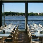 Utsikt från restaurangen!