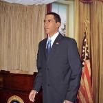 President Obama at the Hall of Presidents