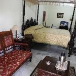 Room with antique furniture