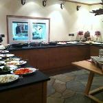 Angolo buffet colazione/cena