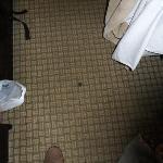 Fußboden im Zimmer