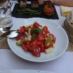 Wrong salad but was nice