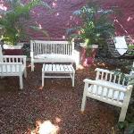 jardin privado Pchalé Palacio Viejo