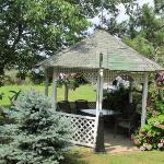 Gazebo Great place to sit and read or Chat