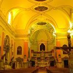 Inside Church next door to Villa Mozart
